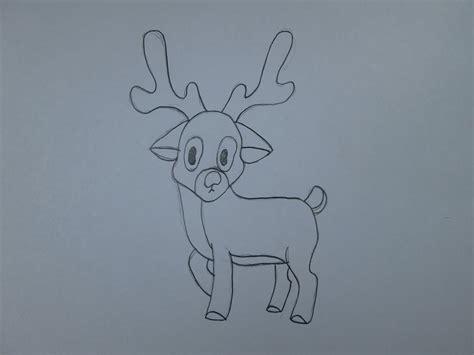 imagenes para dibujar a lapiz de navidad c 243 mo dibujar un reno de navidad youtube