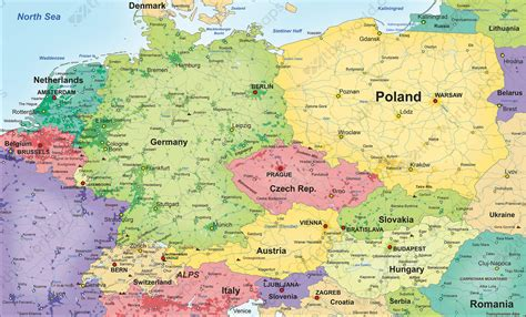 map of central europe popular 260 list central europe map
