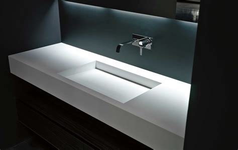Bathroom Sink Designs by Myslot Integrated Top By Antonio Lupi Ambient Kitchens