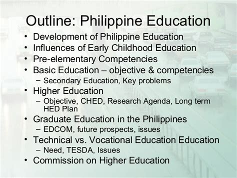 dissertations on education thesis on early childhood education in the philippines
