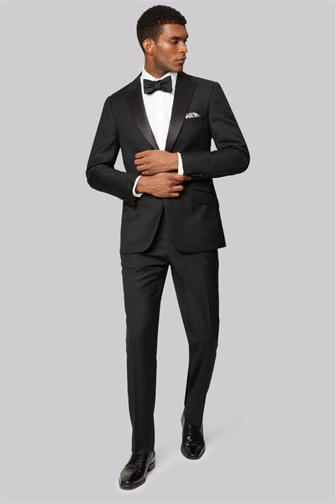 Tuxedo Black ted baker tailored fit black tuxedo jacket