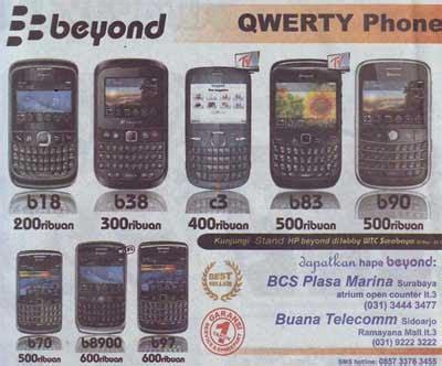 Beyond B8900 beyond phones get promo price at beyond booth lobby wtc