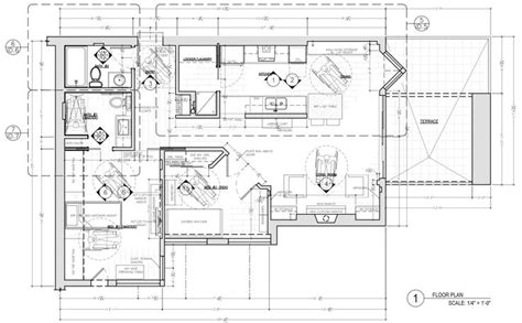 interior plan design floor plan construction document corey klassen interior