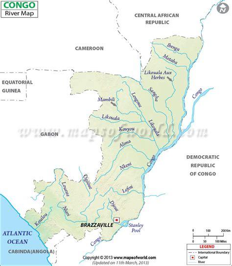 river map congo river map