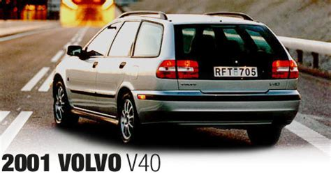 vehicle repair manual 2001 volvo v40 auto 2001 volvo v40 first drive motor trend