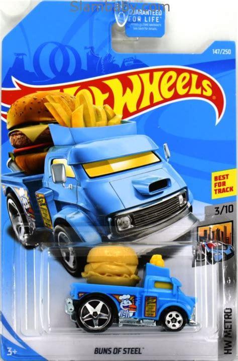 hot wheels buns  steel blue  hw metro