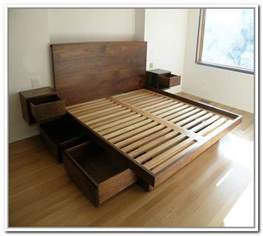 Metal Platform Bed With Drawers Best 25 Ikea Platform Bed Ideas On Diy Bed