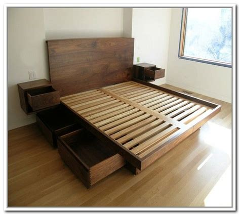 king storage bed frame with drawers best 25 bed frame with drawers ideas on bed
