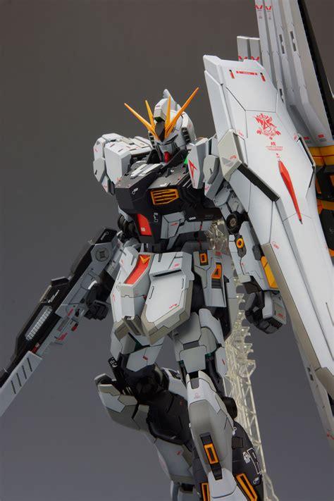 Mg Nu Gundam Ver Ka mg 1 100 rx 93 hi nu gundam ver ka w conversion kit work
