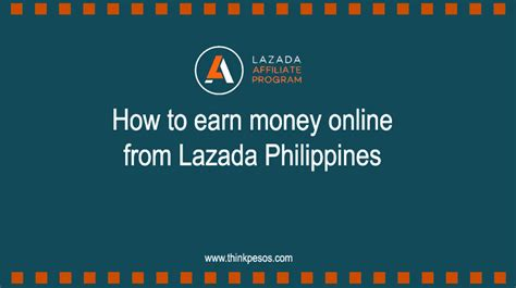 how to earn money online from lazada philippines - How To Make Money Online Philippines