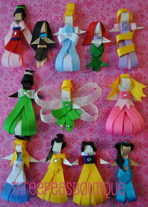 diy disney crafts princesas en liston manualidades raras