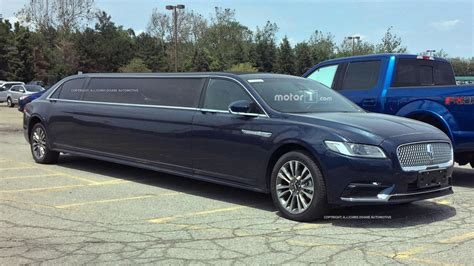 Lincoln Limousine by Lincoln Continental Limousine Motor1 Photos