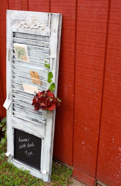 repurposing shutters salvaged grace