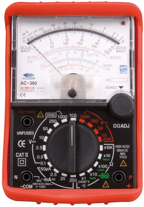 Multimeter Elektronik mt 250 analog multimeter at reichelt elektronik