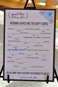 Guest Libs Wedding Edition Template by New Mad Libs Wedding Edition Floral Digital File By Blushnotes