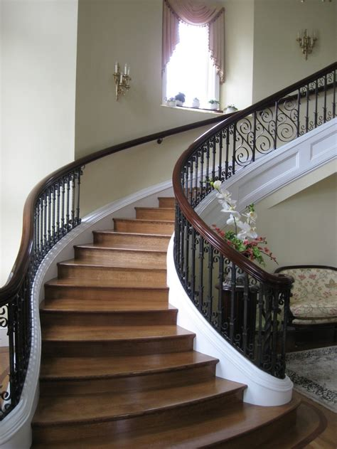 elegant staircases 17 best images about stair rails on pinterest stains
