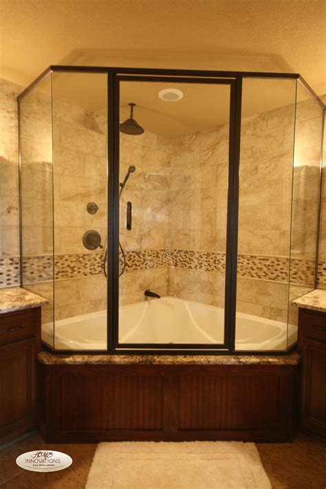 bathroom tub shower ideas bathroom ideas corner tub shower combo units in white