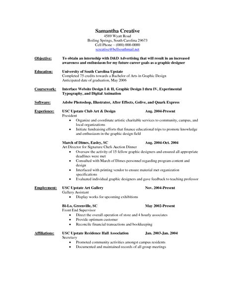 sle resume for kitchen animator cover letter sle call center resume