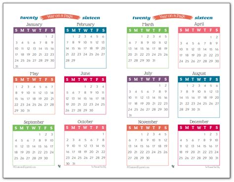 printable planner with dates 2016 year on page printable calendars are here playboy