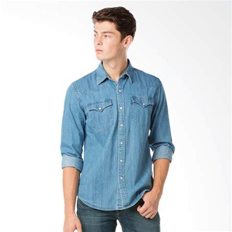 Kemeja Adidas Classic jual levi s 66986 0021 classic western shirt stonewash denim kemeja pria harga
