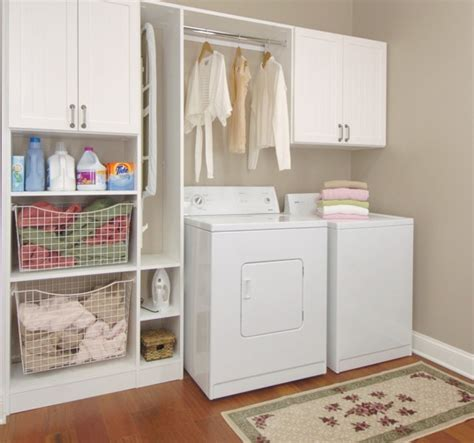 the idea of laundry room storage cabinets home interiors