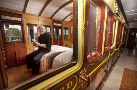 how to house train a 2 year old dog rail enthusiast i keep a 130 year old train carriage inside my house metro news