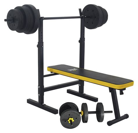 folding weight bench argos everlast folding bench with 50kg weights