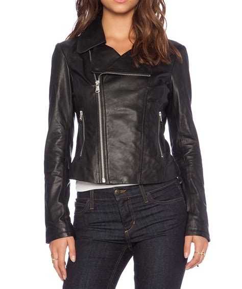 womens leather motorcycle jacket black leather jacket women buzy leather biker jacket in