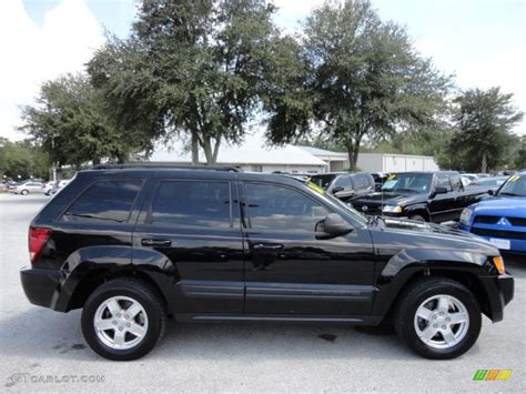 jeep grand black black 2006 jeep grand laredo exterior photo