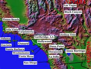 socal california map map of southern california area pictures california map
