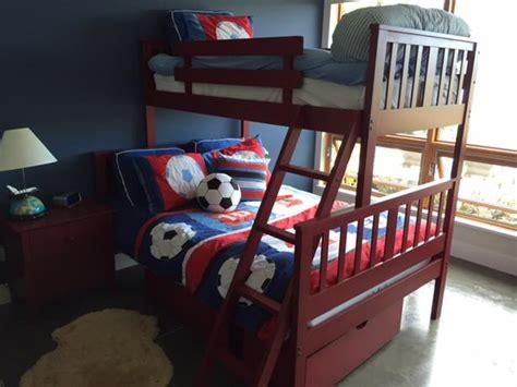 3 Piece Boy S Bedroom Set Bunk Bed Dresser Side Table Bunk Bed Side Table