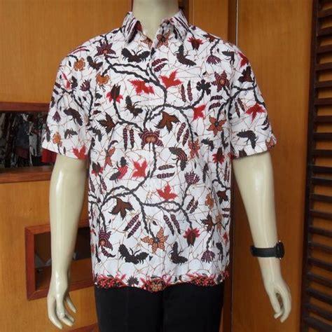 hem batik pria modern rc192 model hem batik pria lengan