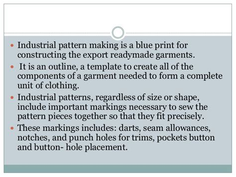 pattern allowances slideshare industrial pattern making