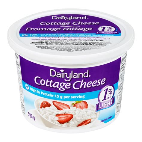 cottage cheese price dairyland cottage cheese 1 mf 500g fresh st market