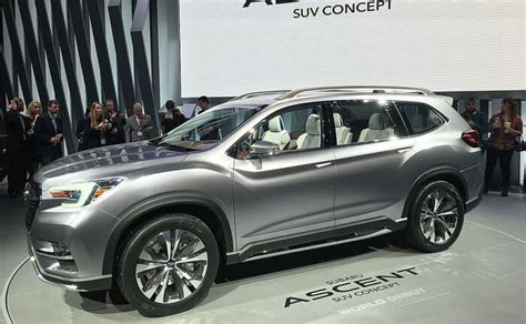 Subaru Ascent 2020 Release Date by 2020 Subaru Ascent Review Price Specs Redesign