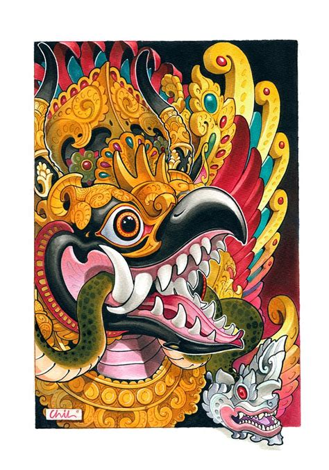 tattoo naga bali 1000 images about art design on pinterest santa cruz