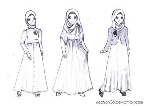 Baju Fashion Costume Kostum Anime Ririchiyo Dress muslimah fashion style by ricchan08 on deviantart