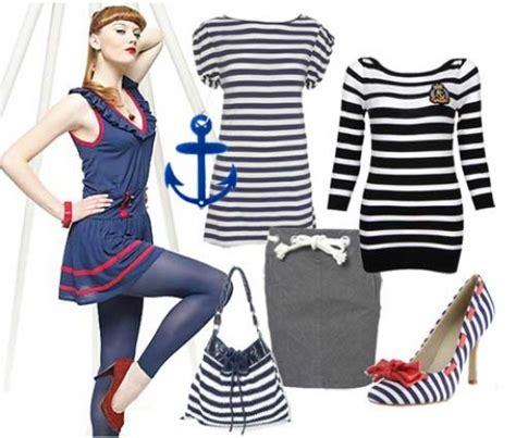 nautical themed clothing accessories cruise clothing the sailor look and nautical fashion