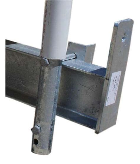 boat lift guide post brackets boat lifts 4 less boat house lifts by boat hoist usa