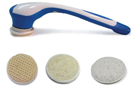 Electric Shower Scrubber by Electric Bath And Shower Back Scrubber Scrub Brush With