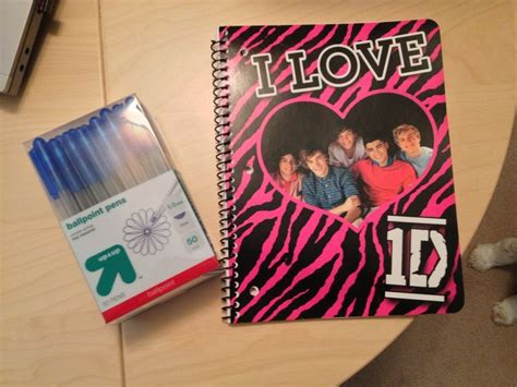 Notebook Buku One Direction a one direction notebook pens and stationery exchange