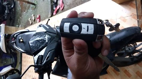 tutorial pemakaian remot alarm pada motor vario 150 new led