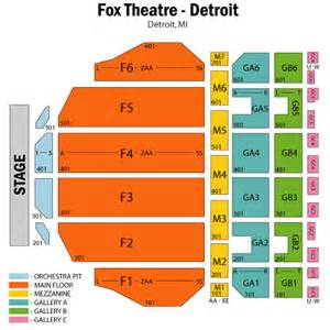 fox theater floor plan young jeezy january 14 tickets detroit fox theatre