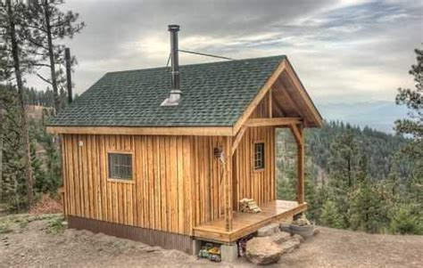 small hunting cabin plans cabin outline el real estate
