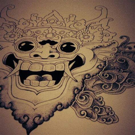 barong rangda tattoo 1000 images about tattoo on pinterest masks harley