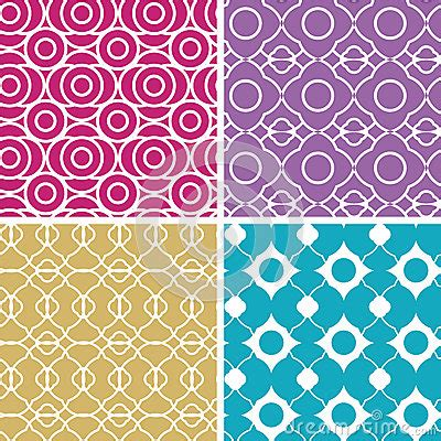 vector pattern matching colorful abstract lineart geometric seamless royalty free
