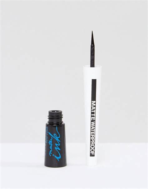 Maybelline Master Ink Waterproof by Maybelline Maybelline Master Ink Waterproof Eyeliner Matte