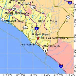 san juan capistrano california ca population data