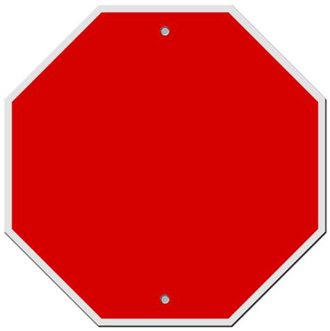 Blank Stop Sign Clip Free by Free Blank Signs 1 Stock Photo Freeimages