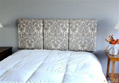 Diy Hanging Headboard by Diy Headboards Great Three Headboard With